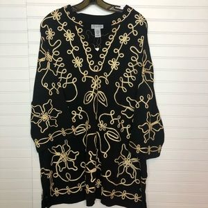 Catherines Embroidered Tunic